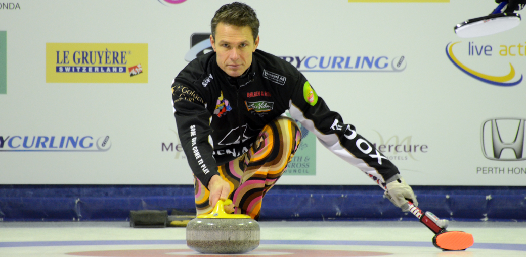 Past Perth Master, Thomas Ulsrud maintains consistent high quality play for place in the semis