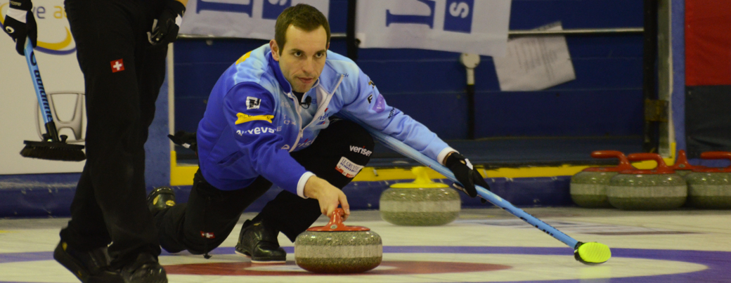 Sven Michel shakes off Team Russia to play Canada's Kevin Koe in the semi.
